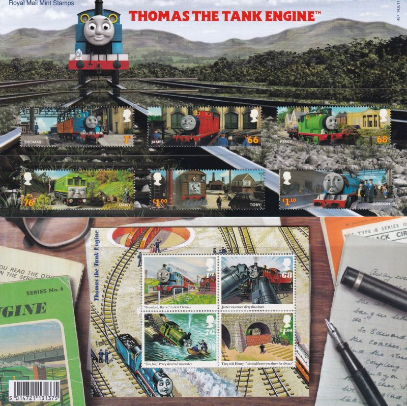 2011 Thomas The Tank Engine Presentation Pack No. 457